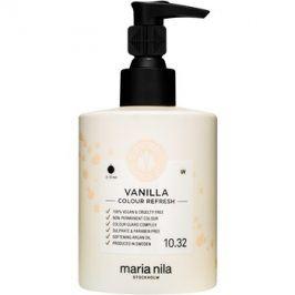 Maria Nila Colour Refresh Vanilla jemná vyživující maska bez permanentních barevných pigmentů výdrž 4-10 umytí 10.32 300 ml