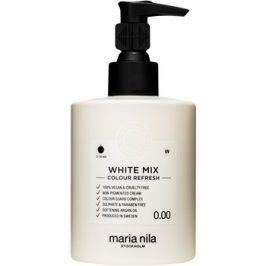 Maria Nila Colour Refresh White Mix vyživující maska bez barevných pigmentů k dotvoření pastelových odstínů výdrž 4-10 umytí 0.00 300 ml