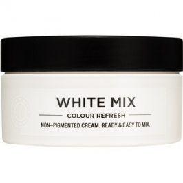 Maria Nila Colour Refresh White Mix vyživující maska bez barevných pigmentů k dotvoření pastelových odstínů výdrž 4-10 umytí 0.00 100 ml