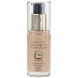 Max Factor Facefinity make-up 3 v 1 odstín 80 Bronze SPF20  30 ml