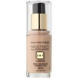Max Factor Facefinity make-up 3 v 1 odstín 40 Light Ivory  30 ml