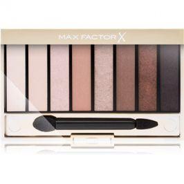 Max Factor Masterpiece Nude Palette paleta očních stínů odstín 01 Cappuccino Nudes 6,5 g