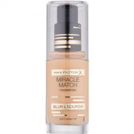 Max Factor Miracle Match tekutý make-up s hydratačním účinkem odstín 77 Soft Honey 30 ml