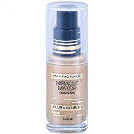 Max Factor Miracle Match tekutý make-up s hydratačním účinkem odstín 60 Sand 30 ml