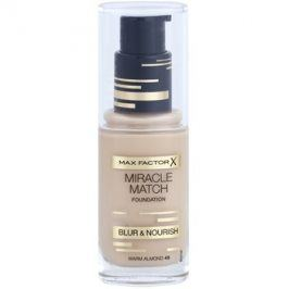 Max Factor Miracle Match tekutý make-up s hydratačním účinkem odstín 45 Warm Almond 30 ml