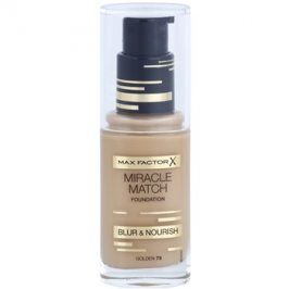 Max Factor Miracle Match tekutý make-up s hydratačním účinkem odstín 75 Golden 30 ml