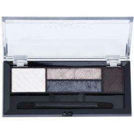 Max Factor Smokey Eye Drama Kit paleta očních stínů a stínů na obočí s aplikátorem odstín 02 Lavish Onyx 1,8 g
