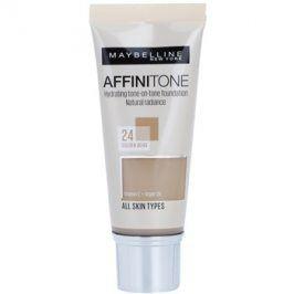 Maybelline Affinitone hydratační make-up odstín 24 Golden Beige 30 ml