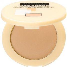 Maybelline Affinitone kompaktní pudr odstín 24 Golden Beige 9 g