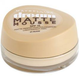 Maybelline Dream Matte Mousse matující make-up odstín 21 Nude 18 ml