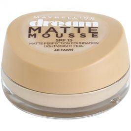 Maybelline Dream Matte Mousse matující make-up odstín 40 Fawn 18 ml