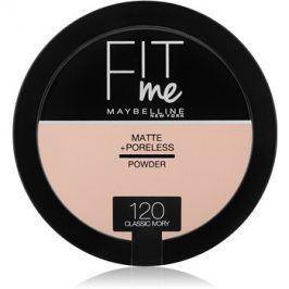 Maybelline Fit Me! Matte+Poreless matující pudr odstín 120 Classic Ivory 14 g