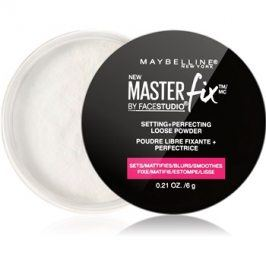 Maybelline Master Fix sypký transparentní pudr  6 g