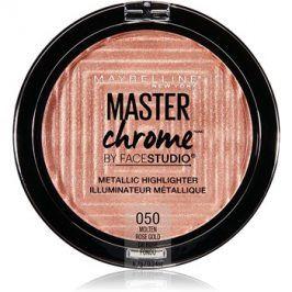 Maybelline Master Chrome rozjasňovač odstín 05 Rose Gold 8 g
