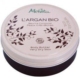 Melvita L'Argan Bio výživné tělové máslo pro velmi suchou pokožku  100 ml