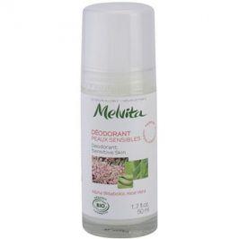 Melvita Les Essentiels deodorant roll-on bez obsahu hliníku pro citlivou pokožku  50 ml