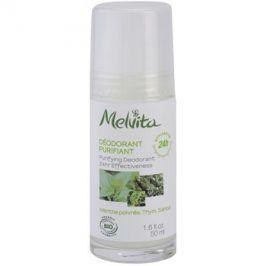 Melvita Les Essentiels deodorant roll-on bez obsahu hliníku 24h  50 ml