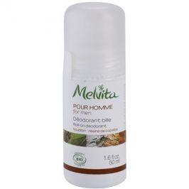 Melvita Pour Homme deodorant roll-on bez obsahu hliníku  50 ml