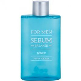 Missha For Men Sebum Breaker tonikum pro mastnou pleť  160 ml
