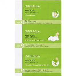 Missha Super Aqua Mini Pore třífázová péče na černé tečky