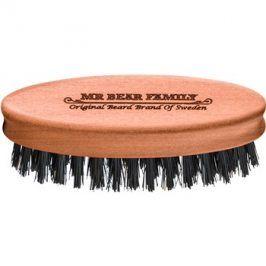 Mr Bear Family Grooming Tools cestovní kartáč na vousy