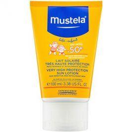 Mustela Solaires mléko na opalování SPF50+  100 ml