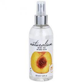 Naturalium Fruit Pleasure Peach osvěžující tělový sprej  200 ml