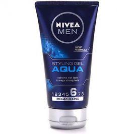 Nivea Men Aqua gel na vlasy s mokrým efektem extra silné zpevnění  150 ml