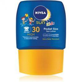 Nivea Sun Kids dětské kapesní mléko na opalování SPF30  50 ml