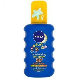 Nivea Sun Kids dětský barevný sprej na opalování SPF50+  200 ml