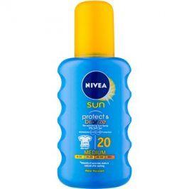 Nivea Sun Protect & Bronze intenzivní sprej na opalování SPF 20  200 ml