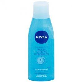 Nivea Visage Pure Effect čisticí gel  200 ml