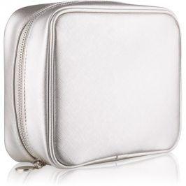 Notino Basic cestovní kosmetická taška dámská stříbrná (21 × 6,5 × 16,5 cm)