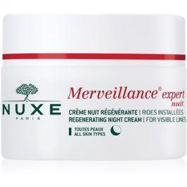Nuxe Merveillance regenerační noční krém pro všechny typy pleti  50 ml