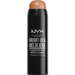 NYX Professional Makeup Bright Idea rozjasňovač v tyčince odstín Bermuda Bronze 09 6 g