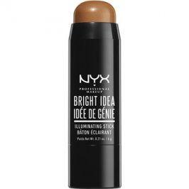 NYX Professional Makeup Bright Idea rozjasňovač v tyčince odstín Topaz Tan 12 6 g