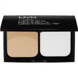 NYX Professional Makeup Define & Refine pudrový make-up odstín 04 Beige 9,5 g
