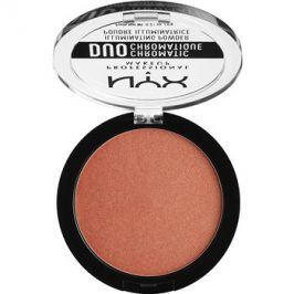 NYX Professional Makeup Duo Chromatic rozjasňovač odstín 05 Synthetica  g