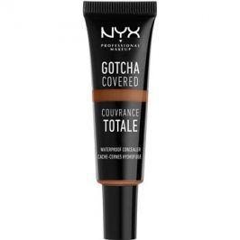 NYX Professional Makeup Gotcha Covered voděodolný korektor pro plné krytí odstín 9.5 Deep Caramel 8 ml