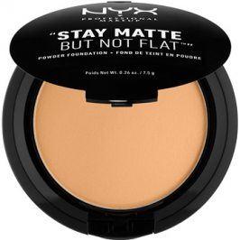 NYX Professional Makeup HD Studio kompaktní pudrový make-up pro matný vzhled odstín 07.5 Fresh Beige 7,5 g