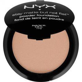 NYX Professional Makeup HD Studio kompaktní pudrový make-up pro matný vzhled odstín 10 Caramel 7,5 g