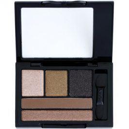 NYX Professional Makeup Love in Florence paleta očních stínů s aplikátorem odstín 05 Sunsets with Sophia 2,4 g