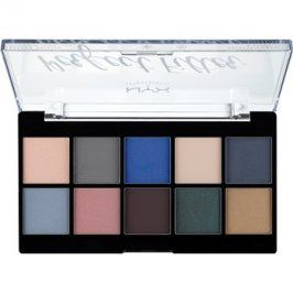 NYX Professional Makeup Perfect Filter paleta očních stínů 05 Marine Layer 10 x 1,77 g