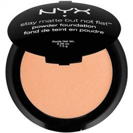 NYX Professional Makeup Stay Matte But Not Flat pudrový make-up odstín 14 Nutmeg 7,5 g