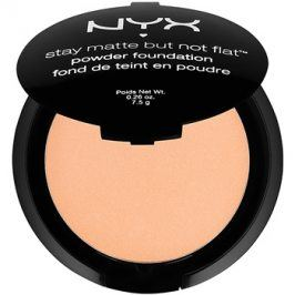 NYX Professional Makeup Stay Matte But Not Flat pudrový make-up odstín 11 Sienna 7,5 g