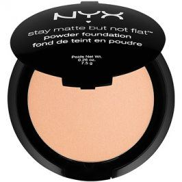 NYX Professional Makeup Stay Matte But Not Flat pudrový make-up odstín 13 Cinnamon Spice 7,5 g