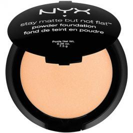 NYX Professional Makeup Stay Matte But Not Flat pudrový make-up odstín 12 Tawny 7,5 g