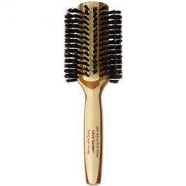 Olivia Garden Healthy Hair 100% Natural Boar Bristles kartáč na vlasy průměr 40 mm