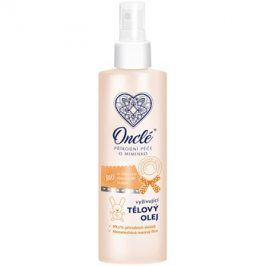 Onclé Baby vyživující tělový olej pro děti od narození  200 ml