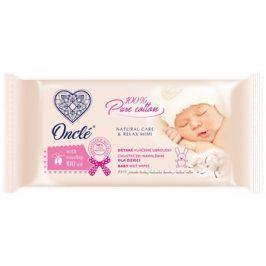 Onclé Baby vlhčené čisticí ubrousky pro děti od narození s šípkovým olejem  54 ks